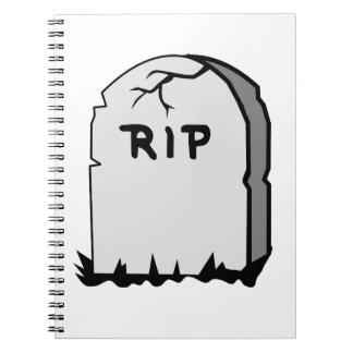 Rip Head stone Notebooks