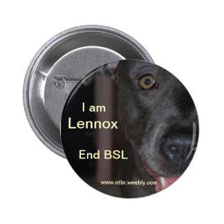 RIP Lennox 6 Cm Round Badge