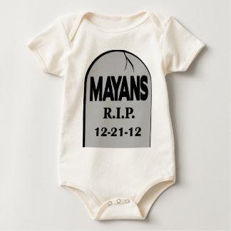 RIP Mayans Baby Bodysuit