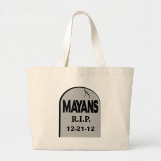 RIP Mayans Jumbo Tote Bag