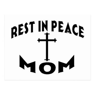 RIP MOM POSTCARD