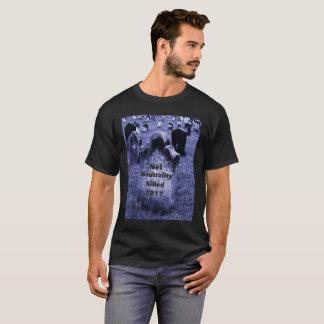 RIP Net Neutrality Gravestone T-Shirt