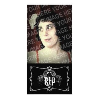 RIP PHOTO CARD TEMPLATE