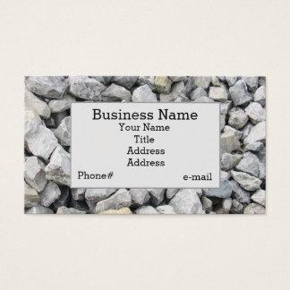 Rip Rap Limestone Design Business Card