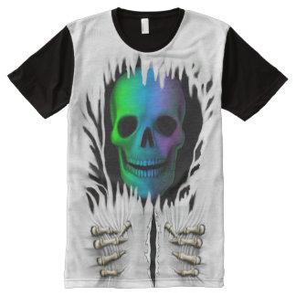 RIP SKELETON All-Over PRINT T-Shirt