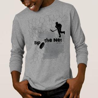 Rip the Net Hockey Player T-Shirt