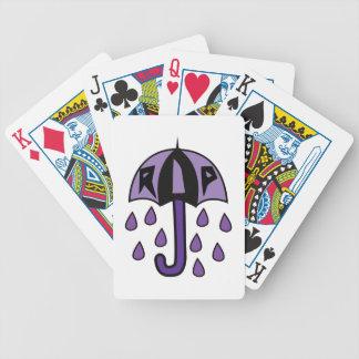 RIP Umbrella Bicycle Playing Cards
