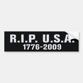 RIP USA Bumper Sticker