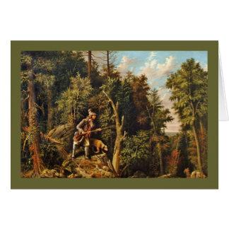 Rip Van Winkle and Hound Dog Card