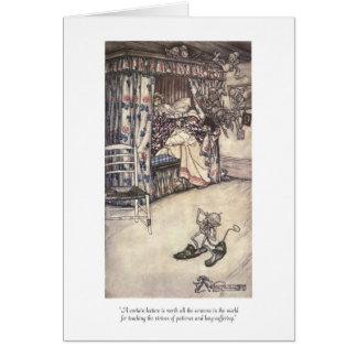 Rip Van Winkle: The Virtues Of Patience Greeting Card