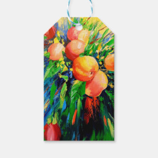 Ripe apples gift tags