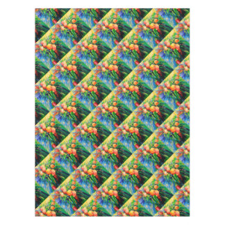 Ripe apples tablecloth