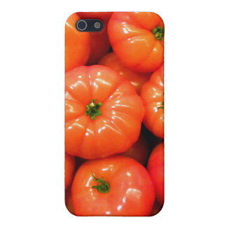 Ripe Red Shiny Tomatoes iPhone 5 Case