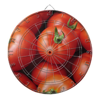 Ripe Tomatoes - Bright Red, Fresh Dartboard