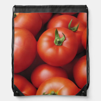 Ripe Tomatoes - Bright Red, Fresh Drawstring Bag