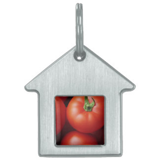 Ripe Tomatoes - Bright Red, Fresh Pet Name Tag