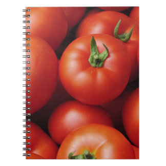 Ripe Tomatoes - Bright Red, Fresh Spiral Notebook