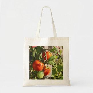 Ripening Tomatoes Budget Tote Bag