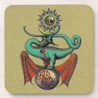 Ripley Scroll Coasters