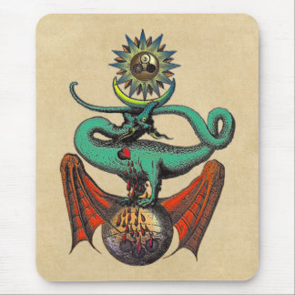 Ripley Scroll Mouse Pad