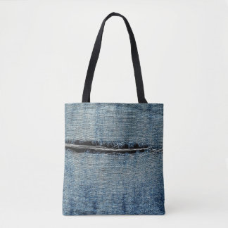 Ripped Jeans Tote Bag