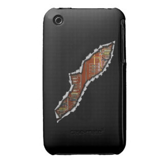 Ripped Open iPhone 3 Case-Mate Cases
