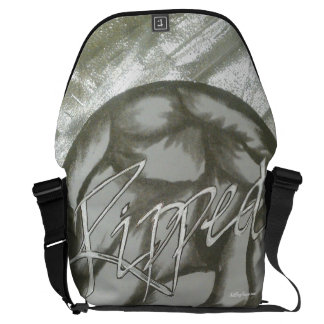 """""""Ripped™ """" (Workout/Sportswear) Courier Bag"""