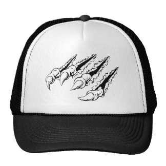 Ripping claw trucker hat