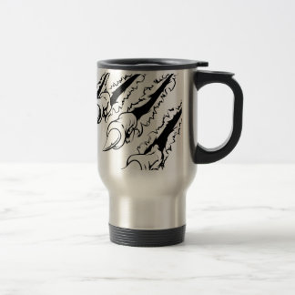 Ripping claw coffee mugs