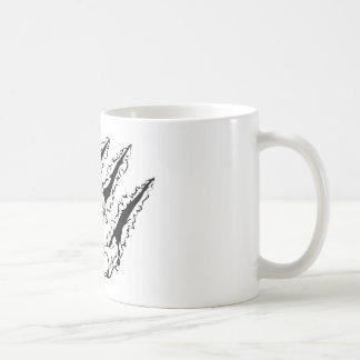 Ripping claw coffee mug