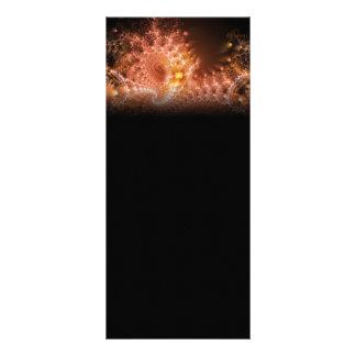 Ripple Effect Digital Fractal Artwork Rack Card