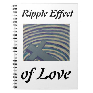 Ripple Effect of Love Notebook