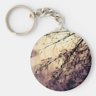 Ripple Basic Round Button Key Ring