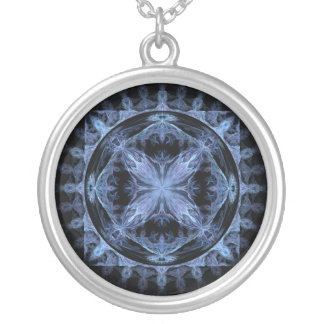 Ripple Round Pendant Necklace