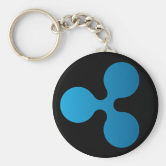 Ripple XRP Basic Keychain (Dark)