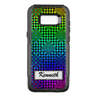 Rippled Checkers by Kenneth Yoncich OtterBox Commuter Samsung Galaxy S8+ Case