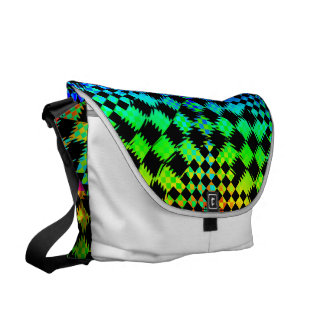 Rippled Checkers Commuter Bags