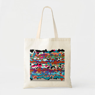 Rippled Colors Tote Bags