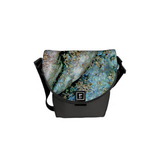Rippled Rock Mini Messenger Bag