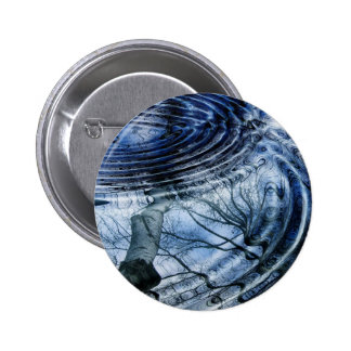 Ripples in Blue Button