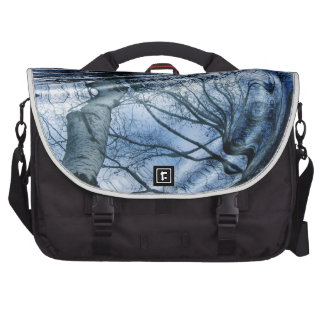 Ripples in Blue Commuter Bag