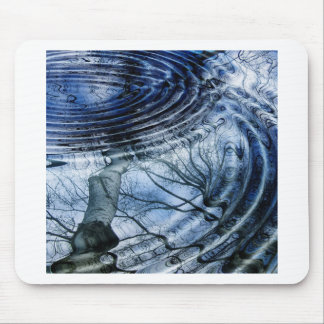 Ripples in Blue Mouse Pad