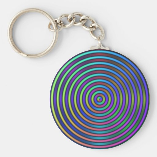 Ripples Keychain