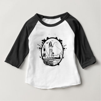 Ripples & NIbbles fishing outfitter logo Baby T-Shirt