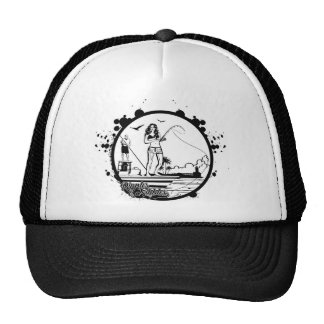 Ripples & NIbbles fishing outfitter logo Cap