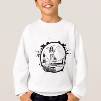 Ripples & NIbbles fishing outfitter logo Sweatshirt