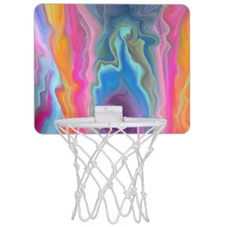 Ripples of Colour Mini Basketball Hoop