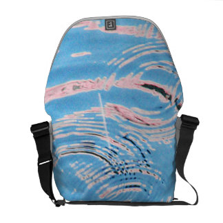 Ripples of Water Commuter Bags