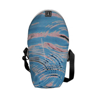 Ripples of Water Courier Bag
