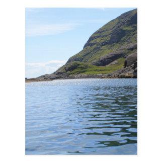 Ripples on water postcard